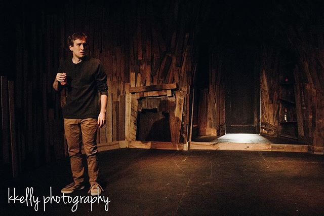 We're back at it again tonight with Episode 1&2 (Episodes 3&4 opening tomorrow)! Get spooky and cozy with us tonight. Tickets still available! Actor: Jacob Camp Photo: @kathleenalicekelly | @kkelly.photography  #nestingpdx #nestingvacancy #pdxtheatre #episodic #originalwork #independenttheatre #spooky #lightroom #latergram #photography #photographer #philchesterpresets #productionstill #productionphoto #actor #kkellyphotography #suspense #shoeboxtheater #horror #thriller #setdesign #whatsbehindthedoor