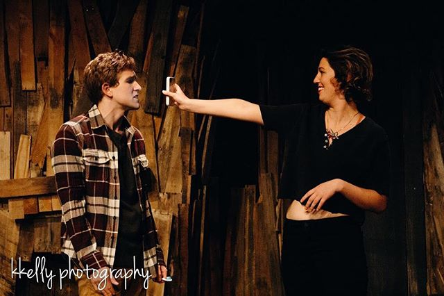 Have you seen??? You only have 4 MORE CHANCES to catch Episodes 1&2!  Get your tickets ASAP! There's still some available for tomorrow night's show! ‼️‼️‼️ Actors: Jacob Camp, Isabella Buckner Photo: @kathleenalicekelly | @kkelly.photography  #nestingpdx #nestingvacancy #pdxtheatre #originalwork #independenttheatre #photography #photographer #philchesterpresets #kkellyphotography #latergram #productionphoto #productionstill #actors #suspense #horror #thriller #psycologicalthriller #october #teaser #spooky #theinternethaseverything