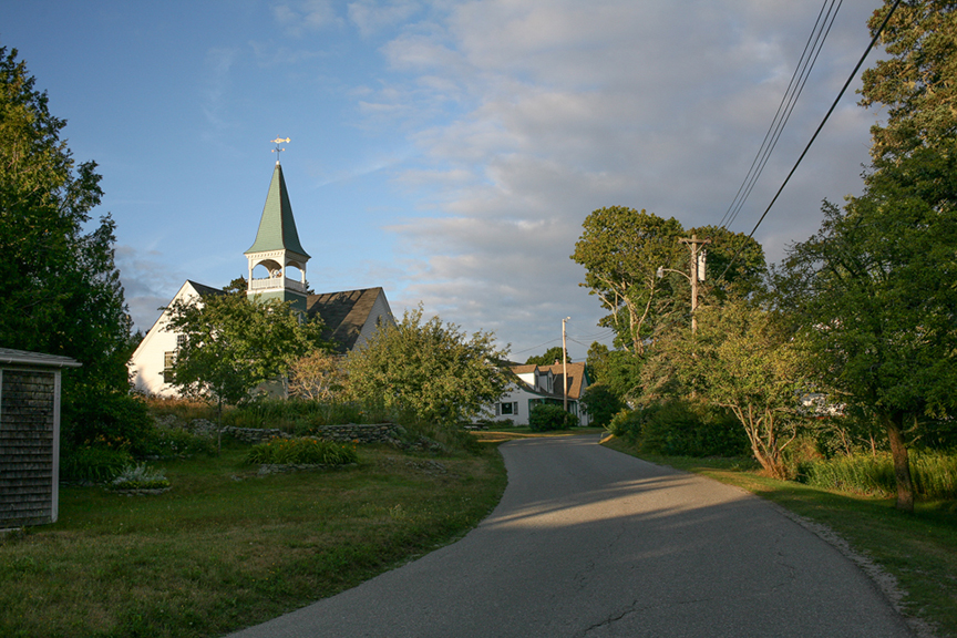 Main Road, Little Cranberry Island