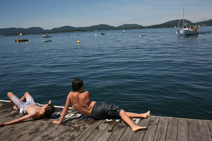 Swimming, Great Cranberry Island