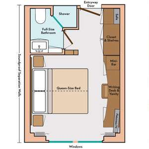 Deluxe Stateroom Layout