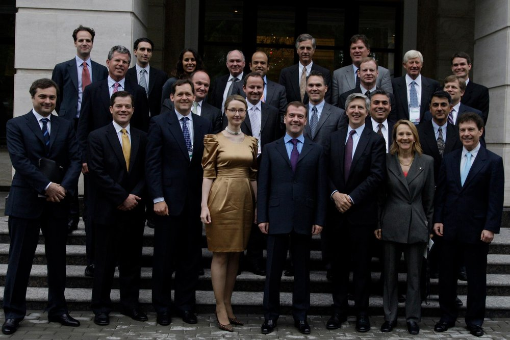 This event had brought a delegation of Managing Partners from the twenty leading Venture Capital firms in Silicon Valley with more than $60B under management to Moscow in May 2010 to meet with Russian business, investment and government elite, including President Medvedev, and to further ties between Silicon Valley and Russian high-tech community. Read more...