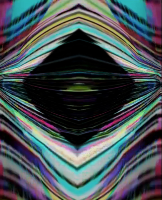 The Autonomous Prism, MSK04.   Still video for projection or plasma screen.   Courtesy artist.