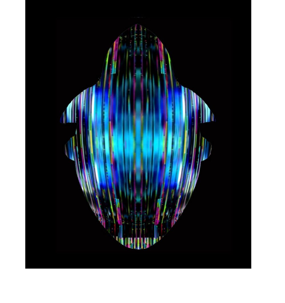 The Autonomous Prism, MSK01.Still video for projection or plasma screen.Courtesy artist.