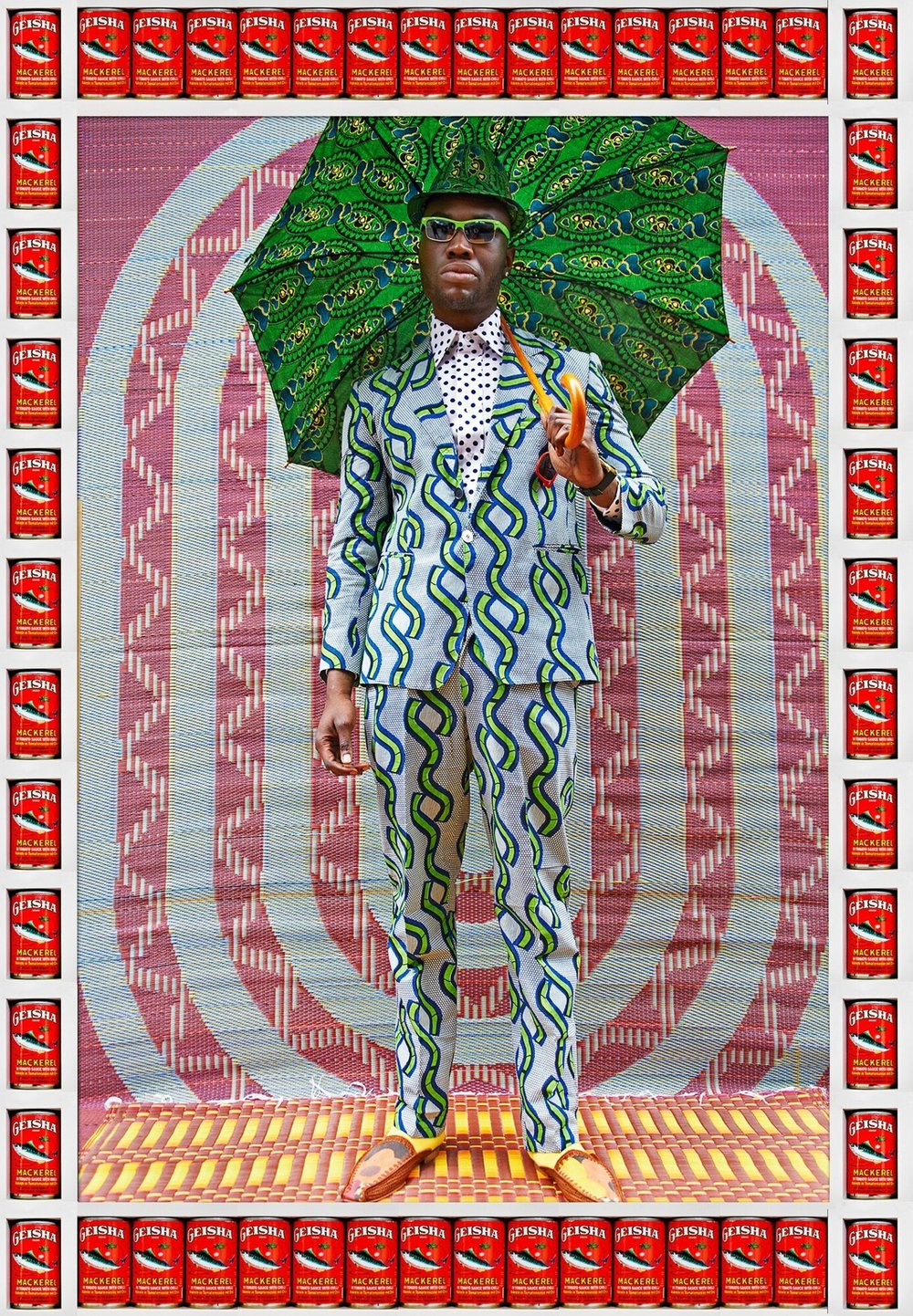 Hassan Hajjaj   African Boy . Courtesy No Lab.