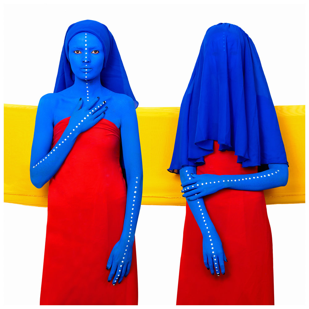 Aida Muluneh,  The Outider Inside.  David Krut Projects.