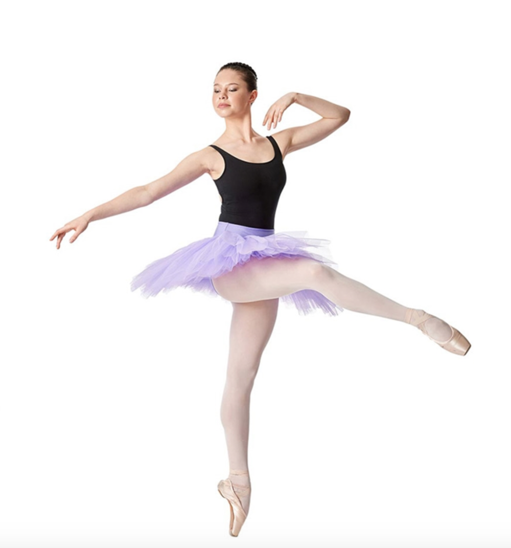 Adult Rehearsal Tutu - 6 Layers of Tulle - by Lulli Dance Wear
