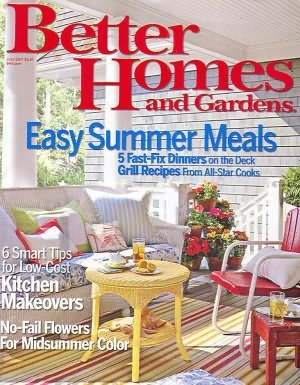 Better Homes & Gardens - July 2007