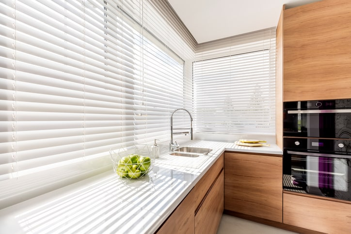 Faux Wood Blinds -