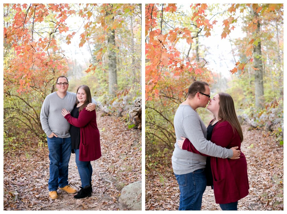 Jessica & Cole Engagement French Creek State Park