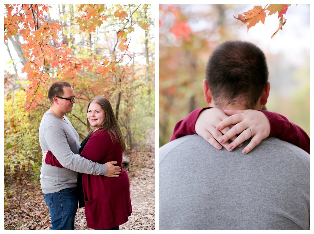 Jessica & Cole Engagement French Creek State Park 2