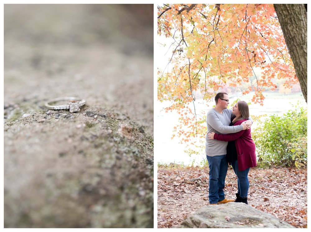 Jessica & Cole Engagement French Creek State Park 11