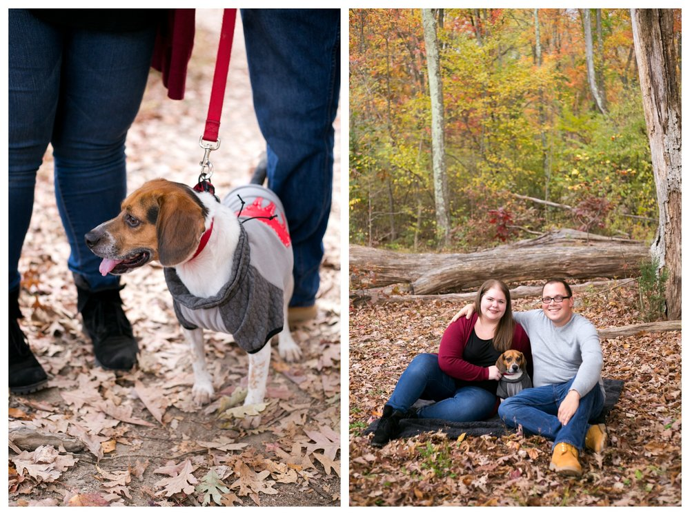 Jessica & Cole Engagement French Creek State Park 8
