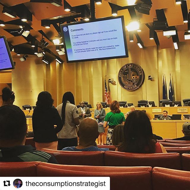 @theconsumptionstrategist ・・・ **LAS VEGAS** Social Consumption Workshop. Be on the lookout for a recap! 👀 • #420 #cannabis #weed #weedstagram #ganja #highsociety #maryjane #stoner #710 #highlife #cannabiscommunity #dank #thc #cbd #cannabinoids  #hightimes #high #smokeweed #social #socialconsumption #budtender #publichealth #safety #vegas #lasvegas #lasvegasstrip #lasvegasblvd #vegasnightlife #vegasbaby #vegasclub