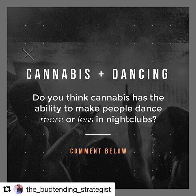 NIGHTCLUBS WITH CANNABIS!? We are working on it... • Does cannabis make you dance or does it make your drowsy? •  Let me know below. 👌🏻 @the_budtending_strategist • #cannabis #cannabiscommunity #cannabisculture #cannabisnightclub #cannabisnightlife #bartender #budtender #clubs #dance #dancing #dancingqueen #bar #bartenders #budtenderlife #weed #restaurantdesign #restaurant #nightclubs #nightclub #nightclubbing #vegas #vegasnightlife #vegasstrip #lyft #uber #cannabisclub #cannabissociety #weedstagram420 #alcohol #420