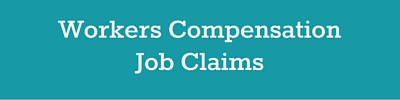 workers compensation job claims