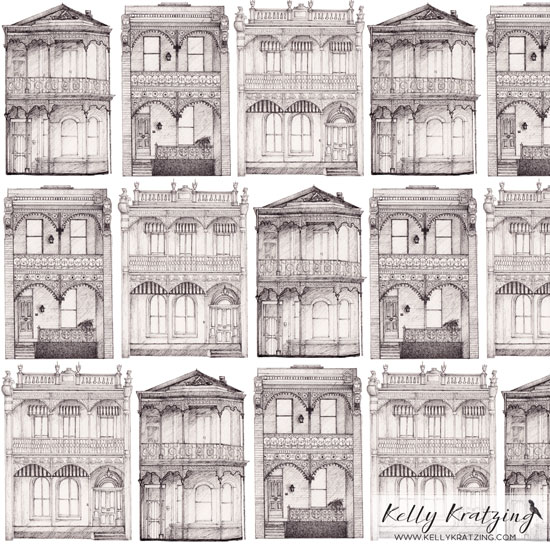 � Kelly Kratzing - Double Terrace Houses