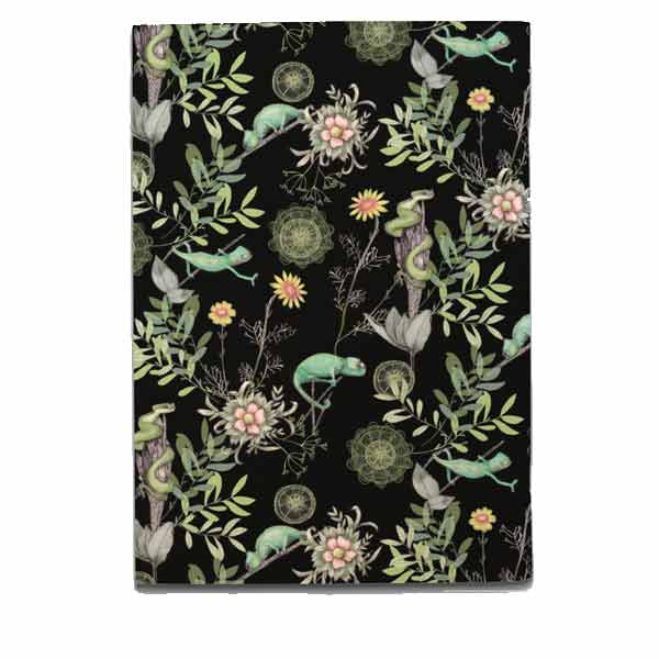 Chameleon Notebook - Black