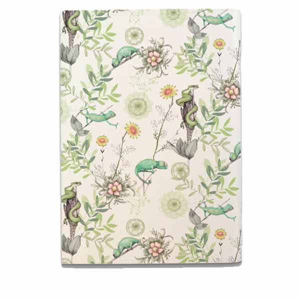 Chameleon Notebook - White