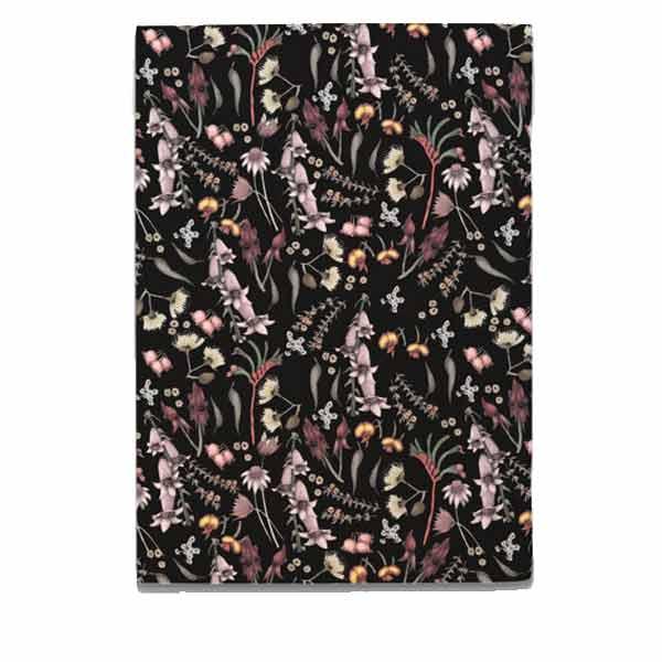 Wildflower Notebook - Black