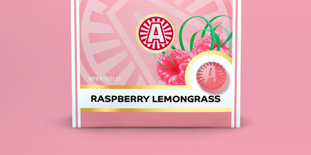 Läkerol Raspberry Lemongrass launch