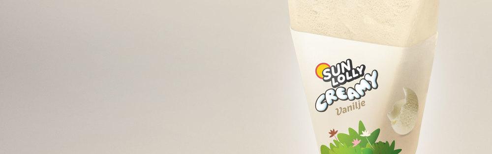 Sun Lolly Creamy Lanceringskampagne