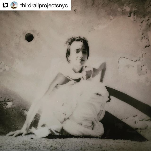 #Repost @thirdrailprojectsnyc with @get_repost ・・・ Polaroid still from today's film shoot — @tompearsonnyc @marta.lune @mawi_dag @bogliascofoundation @thirdrailprojectsnyc