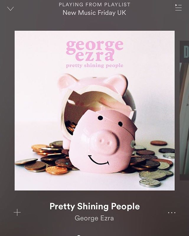 Perfect listening to get you through mid week!! @george_ezra  #whatimlisteningto #myplaylist #singerlife #musicianlife #singersofinstagram