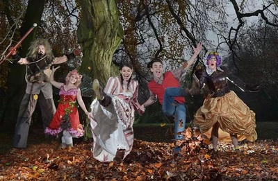 Promotional photo shoot for Jack and the Beanstalk