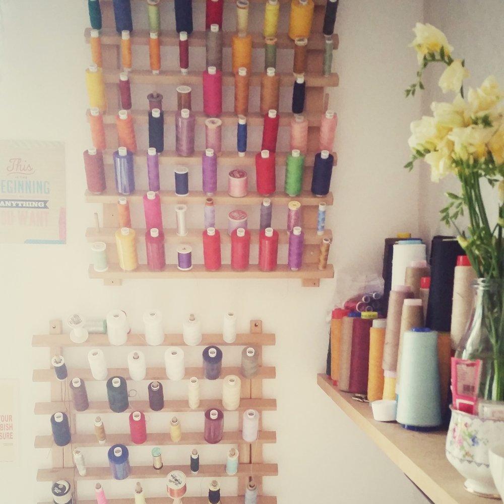 Bright and colourful studio