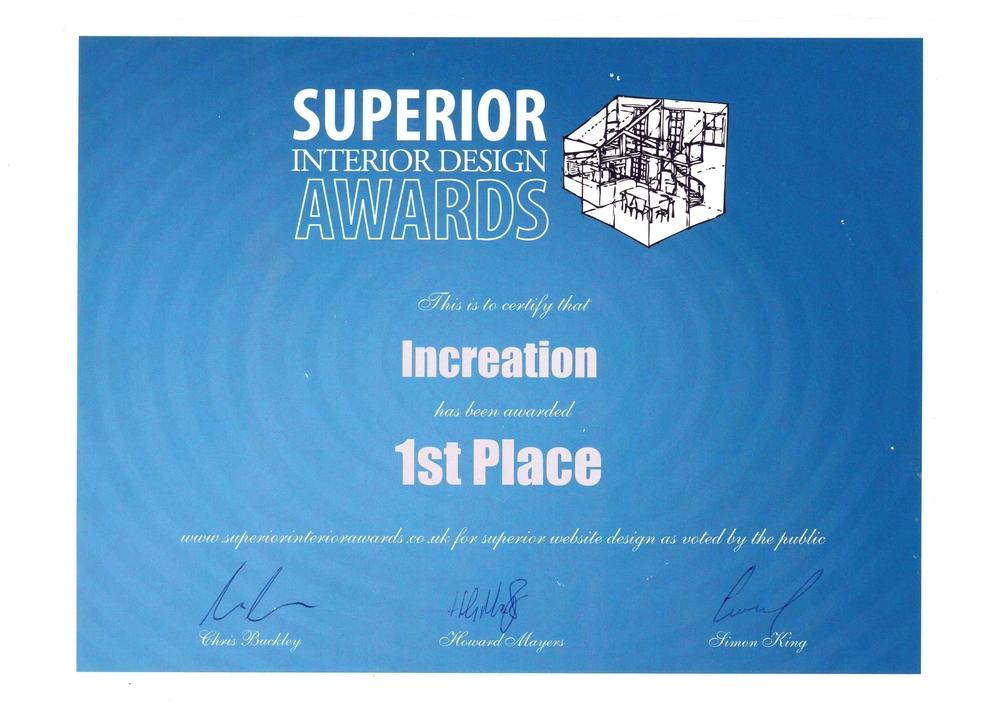 "Superior Interior Design Awards - Winner The following is placeholder text known as ""lorem ipsum,"" which is scrambled Latin used by designers to mimic real copy. Maecenas non leo laoreet, condimentum lorem nec, vulputate massa. Vivamus a ante congue, porta nunc nec, hendrerit turpis. Quisque congue porttitor ullamcorper. Donec eu est non lacus lacinia semper."