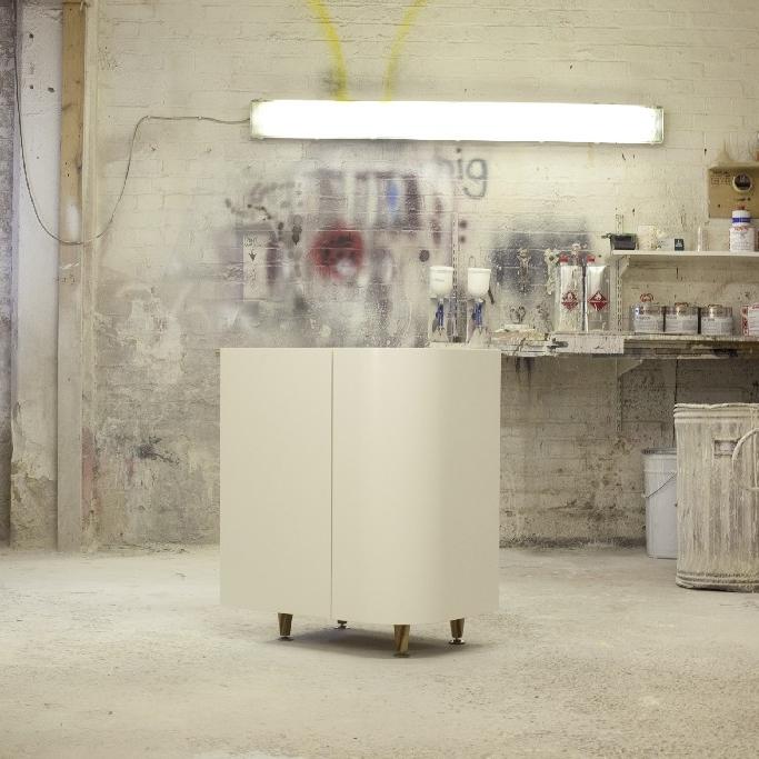 Bespoke Interior Design Kitchen. Brick Walls. Walnut Wood Furniture.