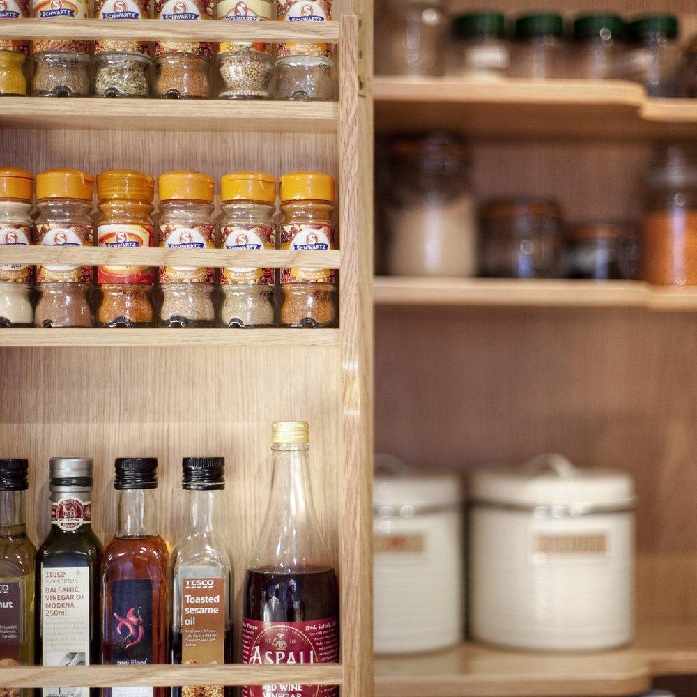 Bespoke Interior Design Kitchen. Brass Inlay in the Marble Worktops.