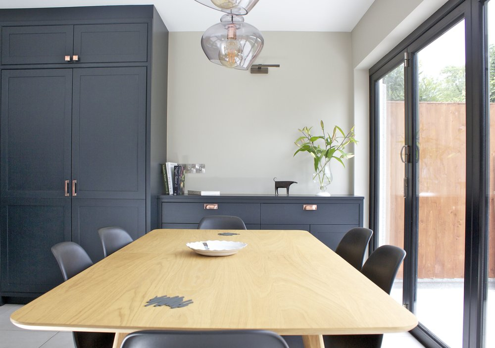 Dining Area - Kitchen Extension Islington