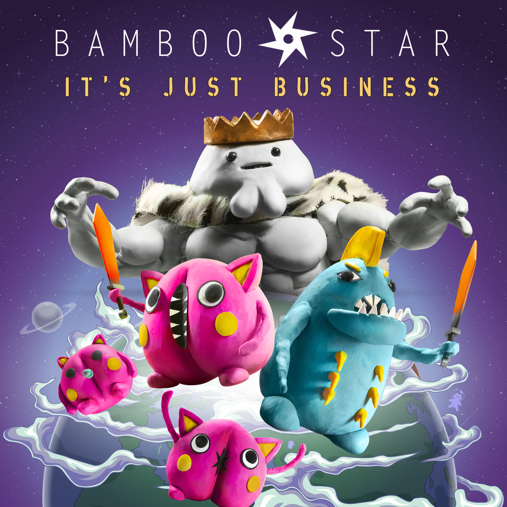 IT'S JUST BUSINESS (2018) - Smashing new single with proggy-guitars, funk bass, relentless drums and biting lyrics.On all major music platforms!