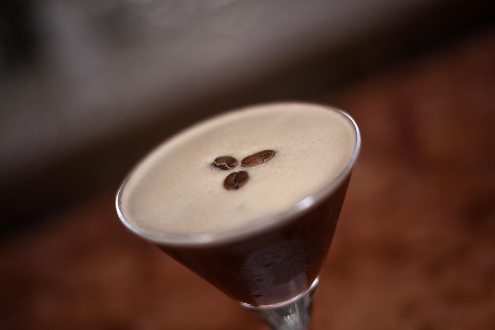 Difference Coffee & Beluga Vodka Martinis, Harry's Bar