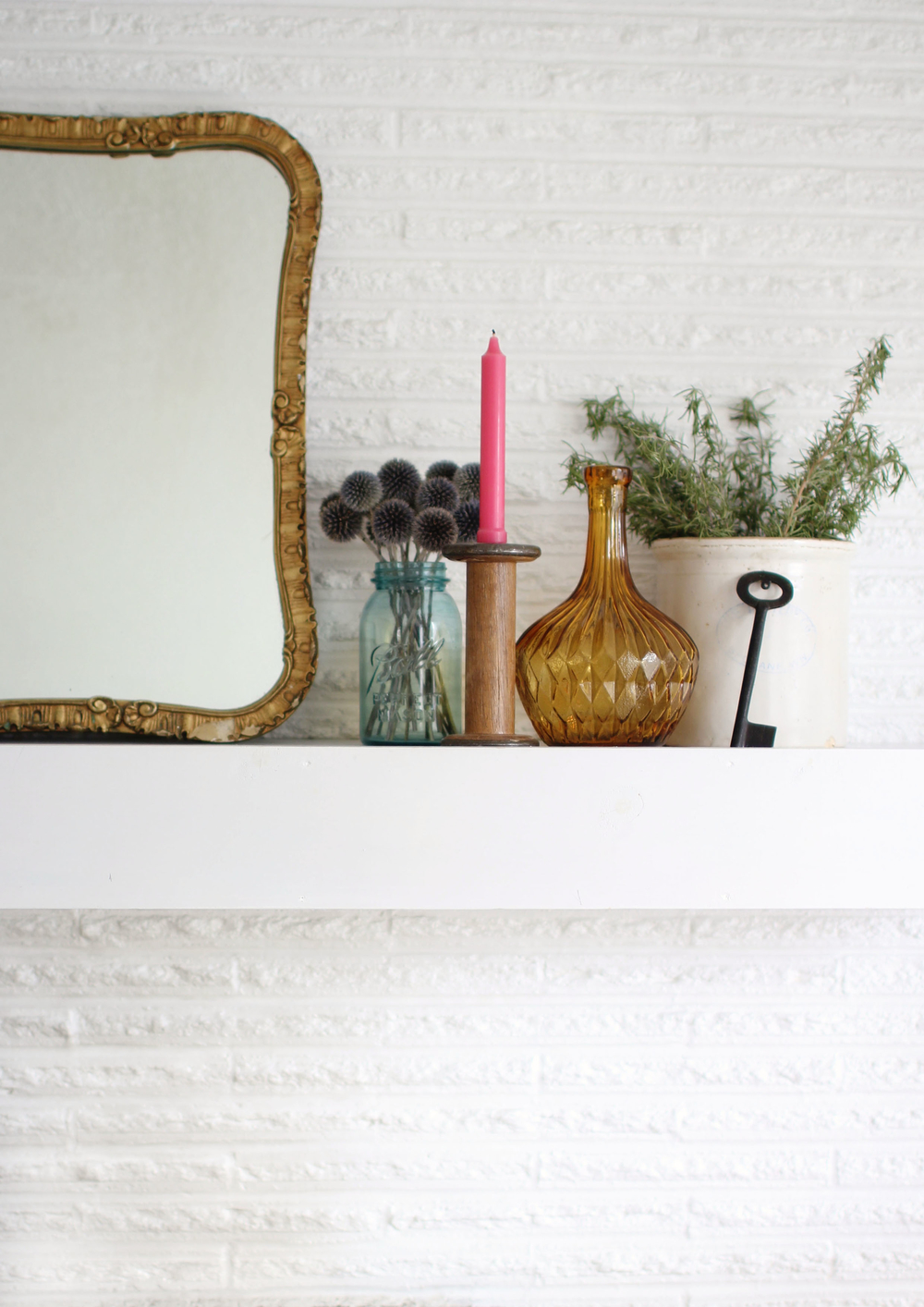 Image by Aileen Allen of At Home in Love blog from her Home Tour in Issue 8.