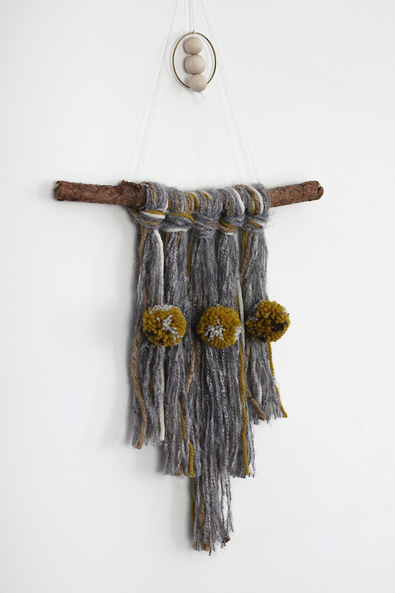 Make a textural wall hanging workshop