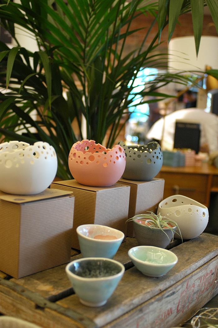 Katie Robbins Ceramics stand / Photo: Caroline Rowland