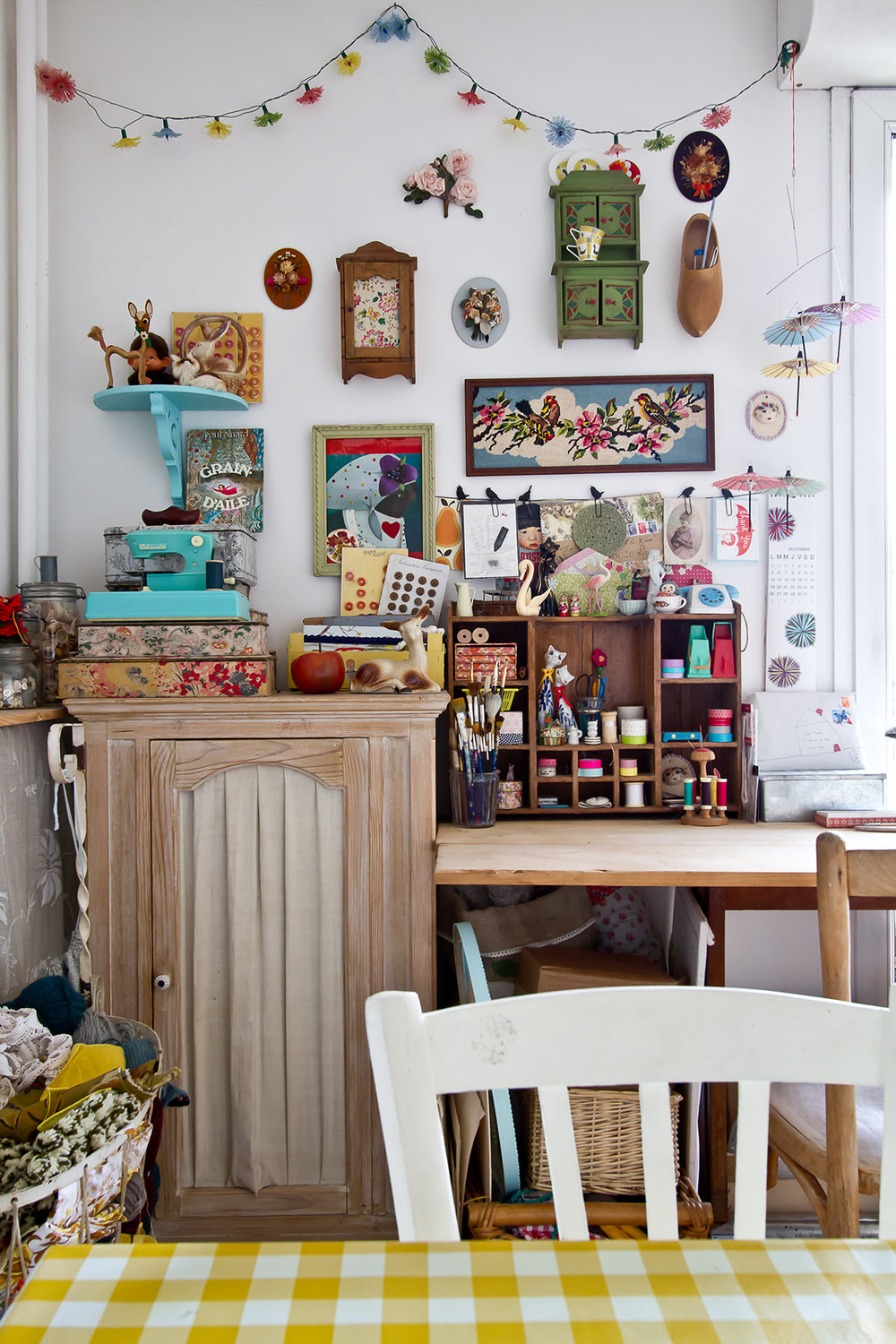 from issue 3 - home tour with Lise Meunier - Photo: Leigh Metcalf