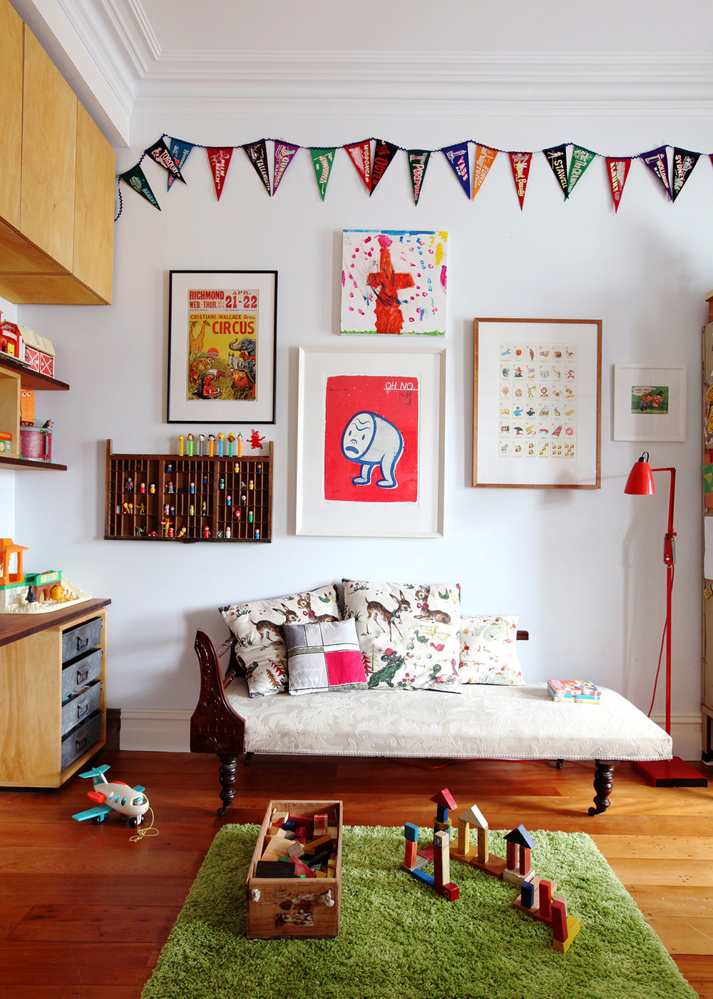 from issue 5 - styling kids rooms - Photo: Natalie Jeffcott