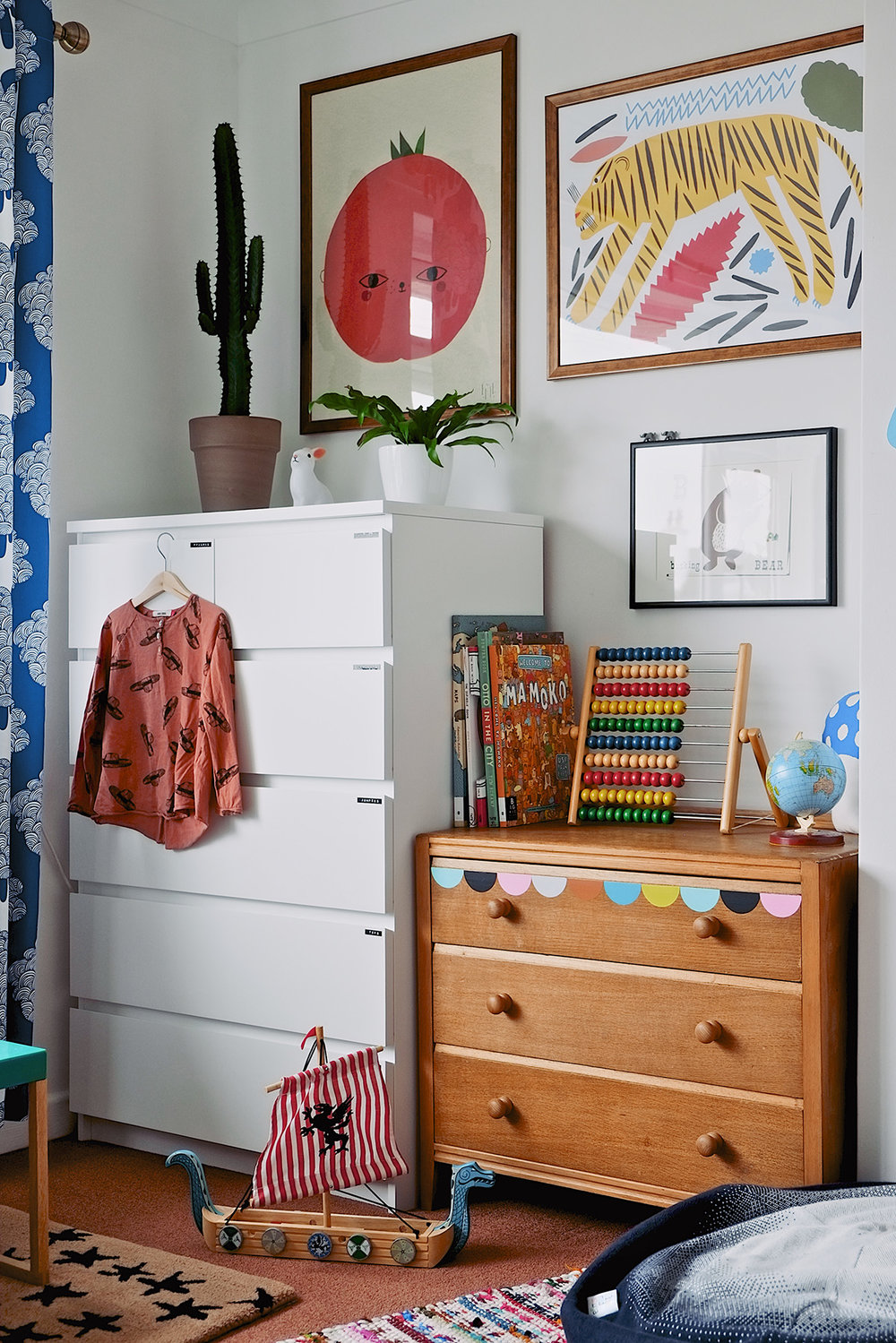 from issue 9 - home tour with Kerry Layton of  Seventy Tree