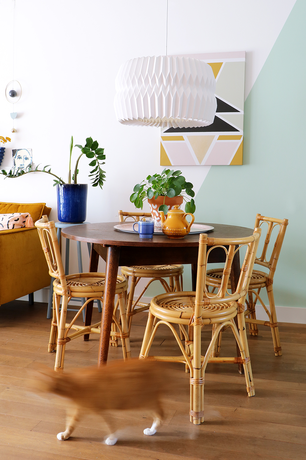 Rattan dining chairs  - €160 - Enter My Attic (only available to Netherlands buyers sadly!)