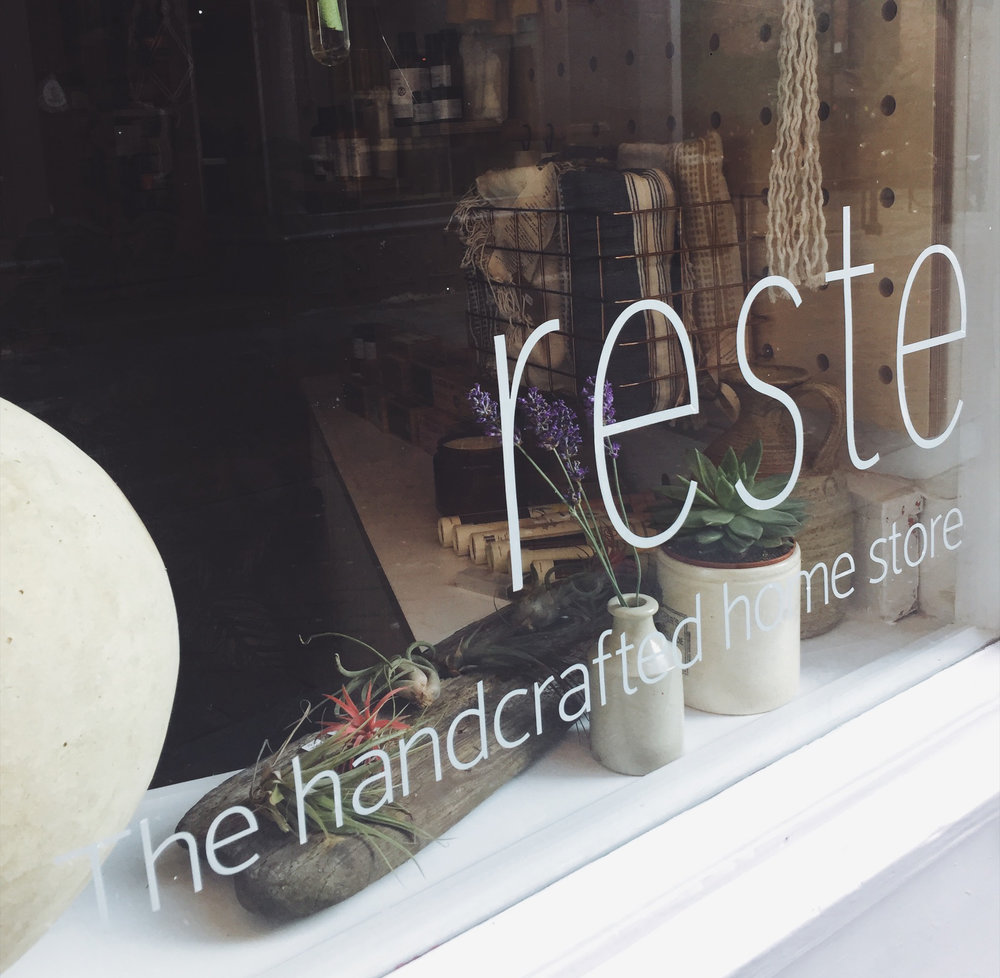 Reste, homeware store, Hastings