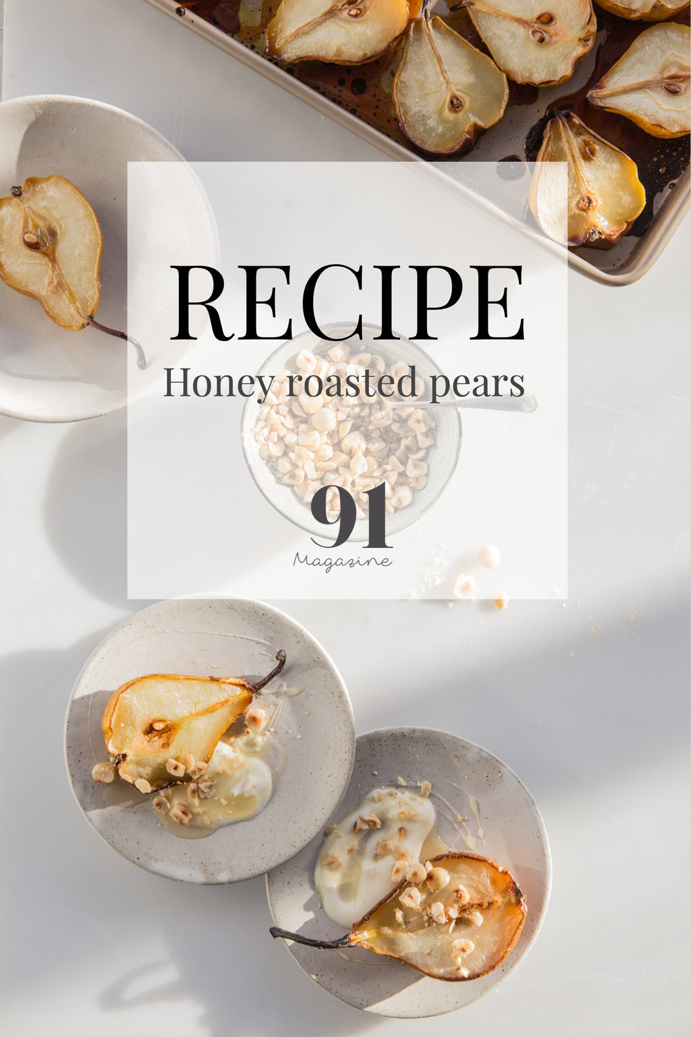 RECIPE: Honey Roasted Pears