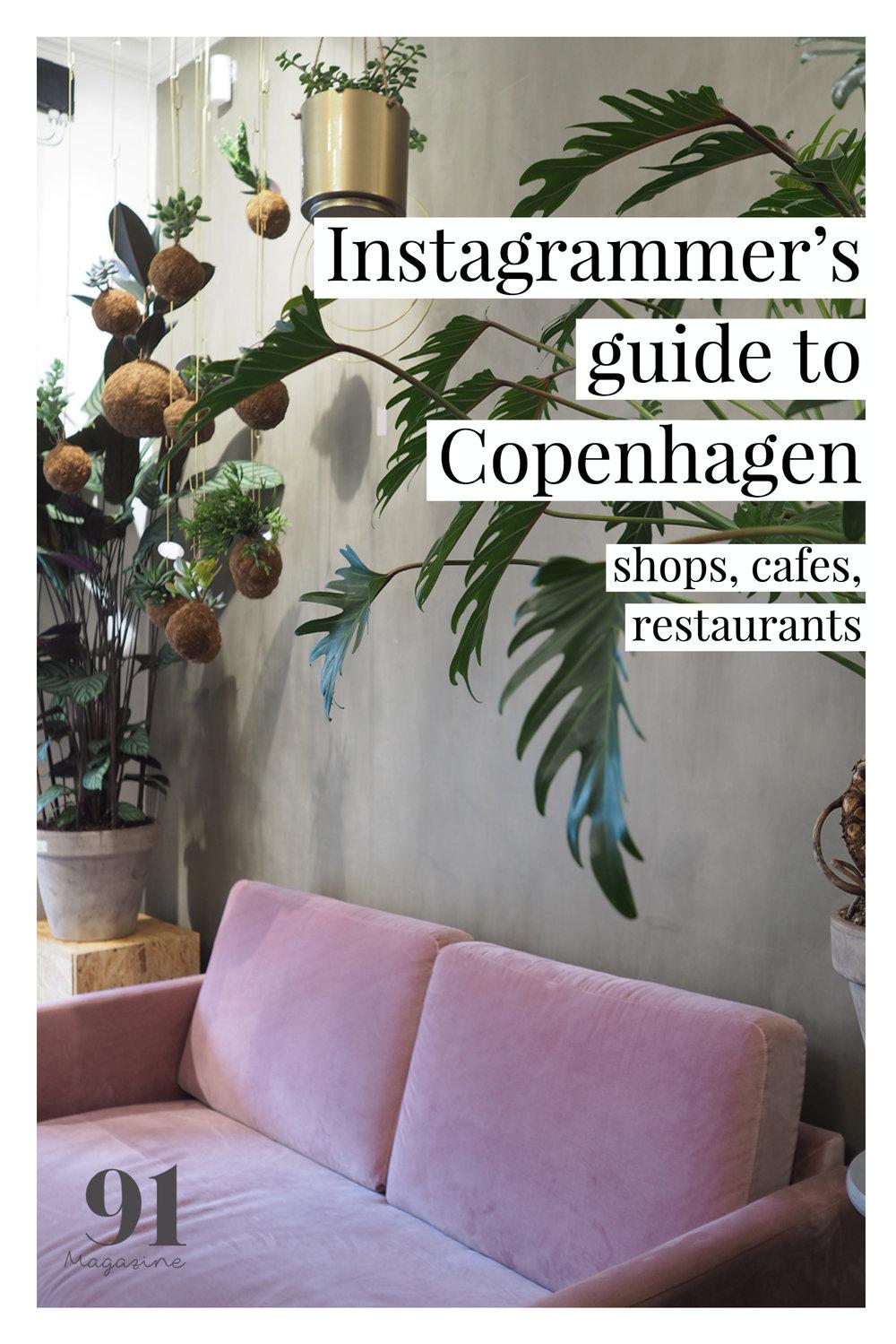 Instagrammers Guide to Copenhagen