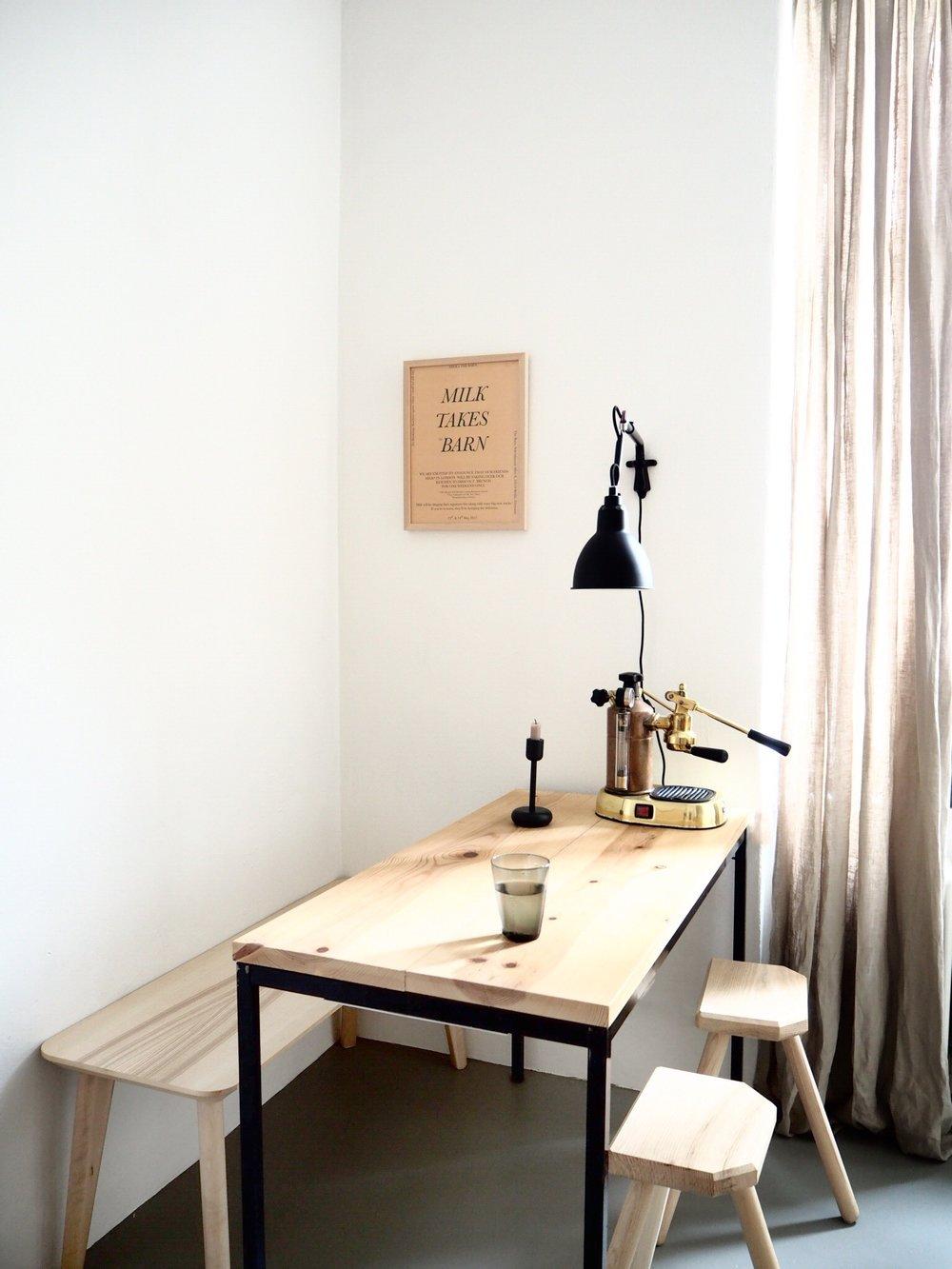 Selina Lauck - home tour - minimal kitchen style