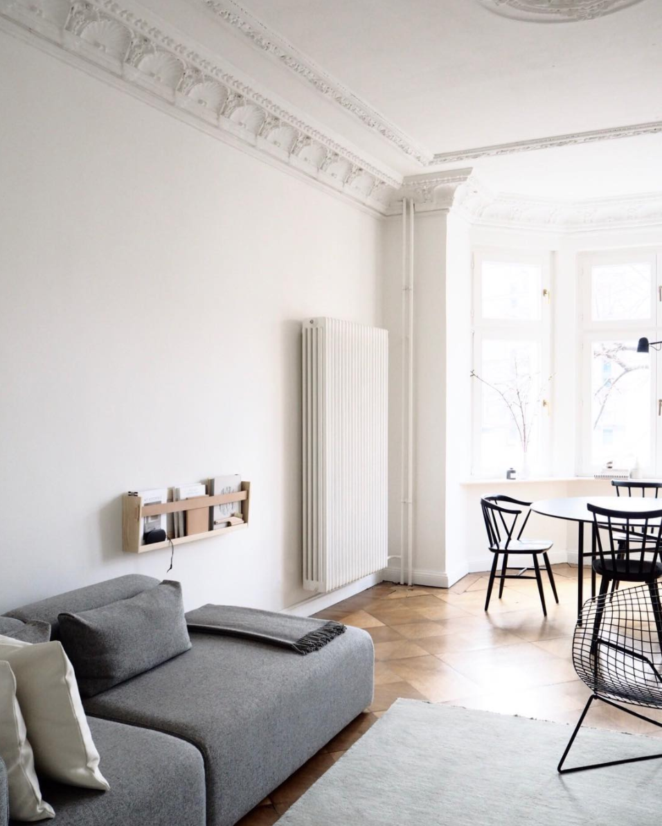 Selina Lauck - home tour - minimal living room