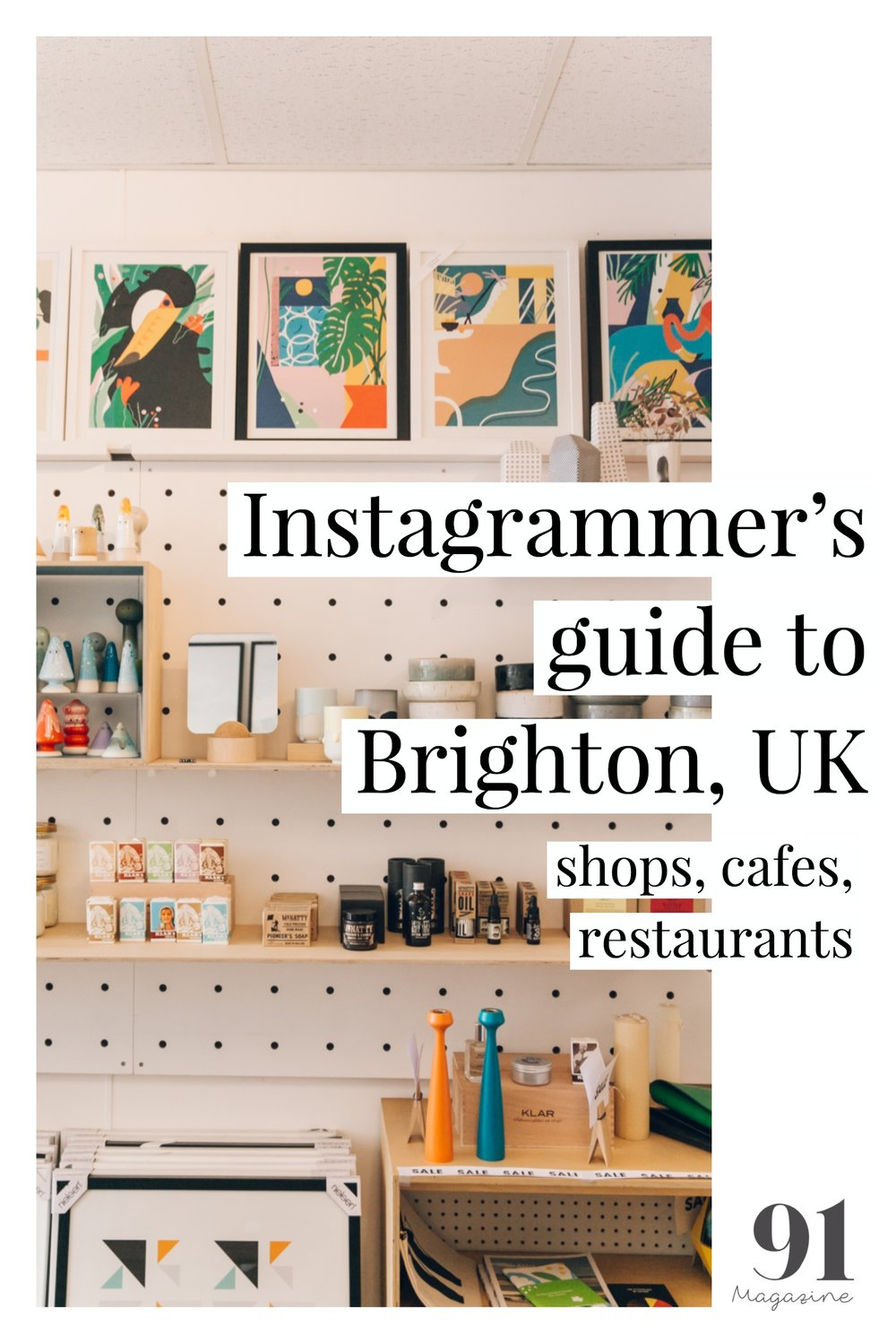 Instagrammer's guide to Brighton, UK