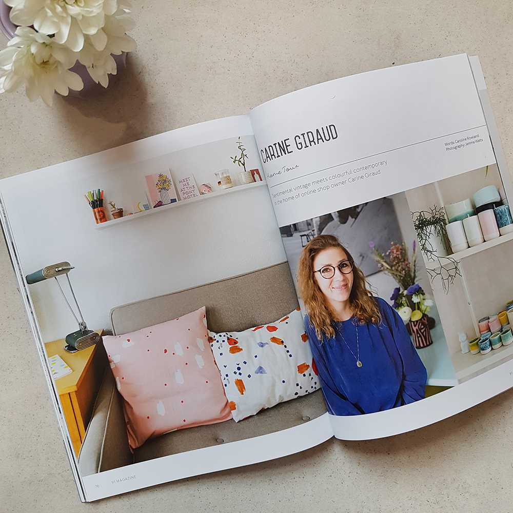 91 Magazine - SS18 issue - independent interiors and lifestyle magazine